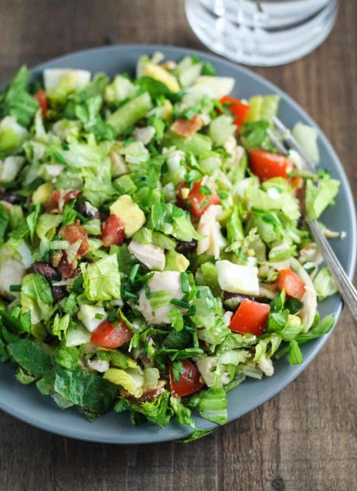 Low FODMAP Cobb Salad