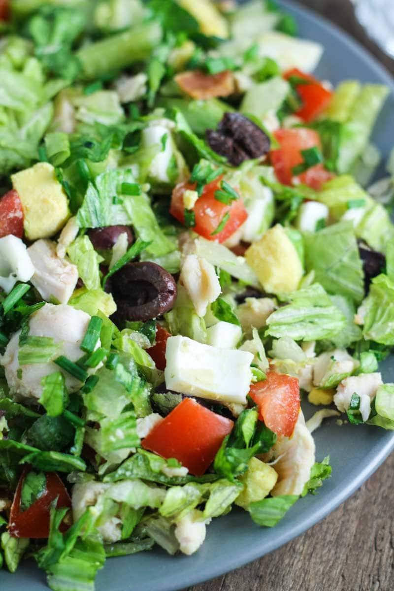 Low FODMAP Cobb Salad