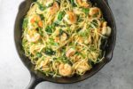 Low FODMAP Spicy Lemon Pasta with Shrimp