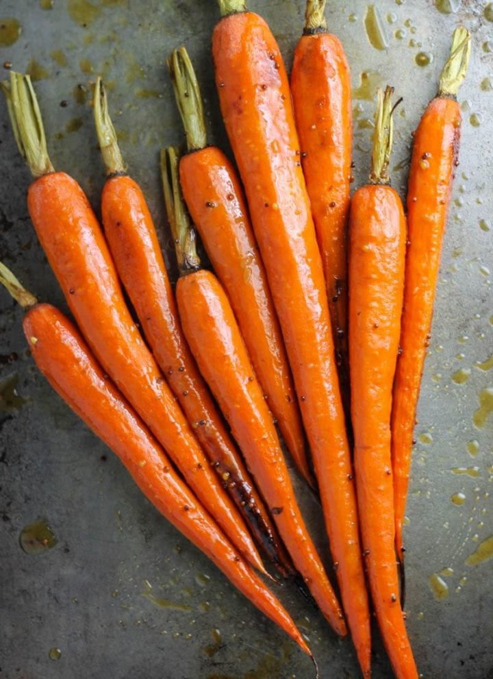 Low FODMAP Maple Dijon Carrots