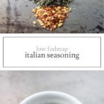 Pictures of low FODMAP Italian seasoning