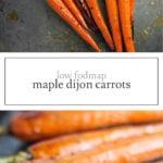 Low FODMAP Maple Dijon Carrots
