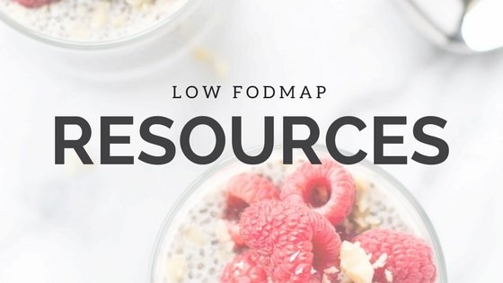 Low FODMAP Resources | FUN WITHOUT FODMAPS