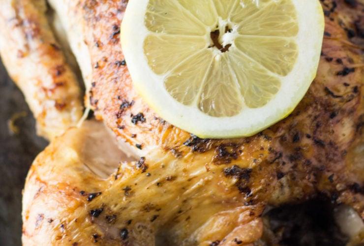 Low FODMAP Lemon Roasted Chicken
