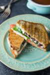 Low FODMAP Mediterranean Grilled Cheese