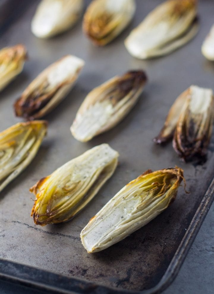 Low FODMAP Roasted Endive