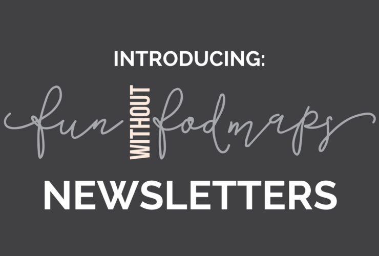 Newsletter   Fun Without Fodmaps