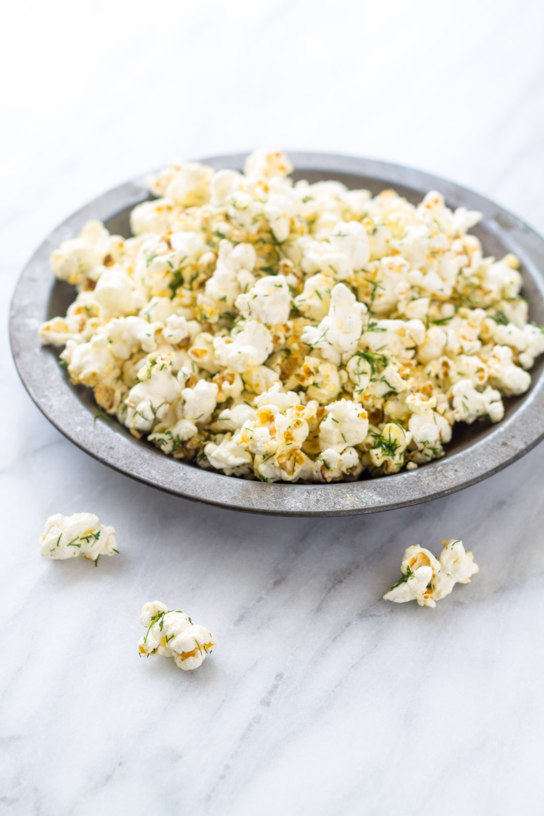 Low FODMAP Dill Pickle Popcorn