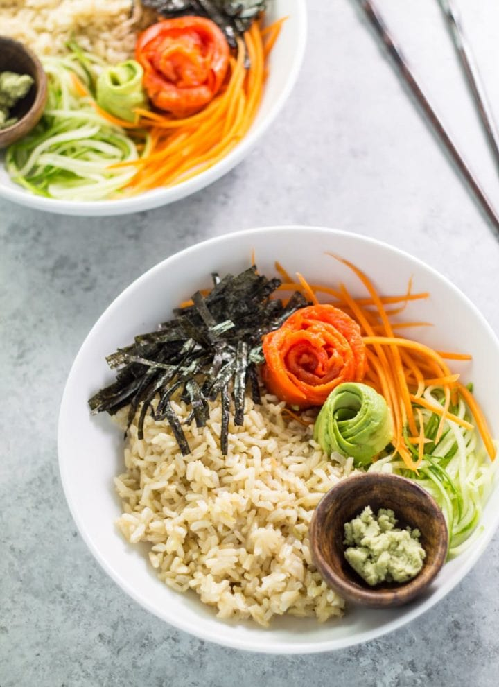 Low FODMAP Sushi Bowl