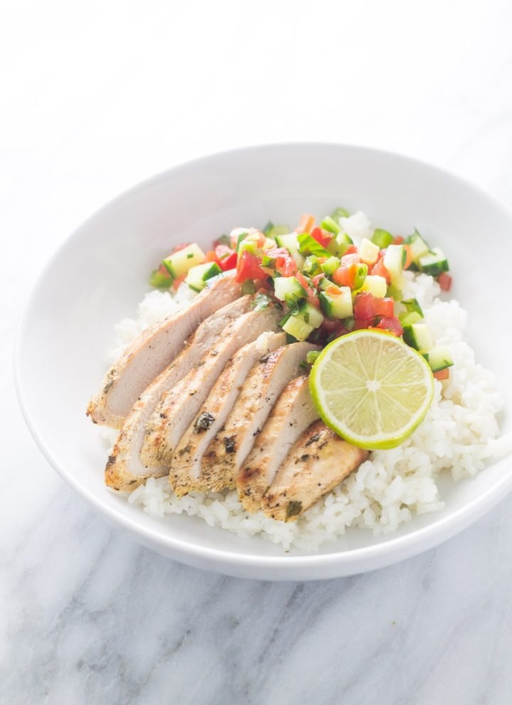 Low FODMAP Cilantro Lime Chicken