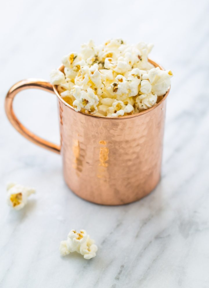 Low FODMAP Pizza Popcorn