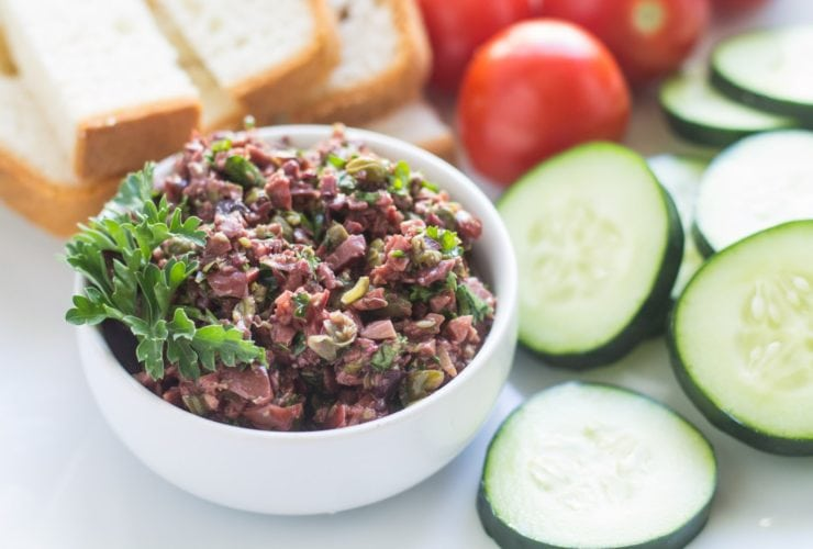 Low FODMAP Olive Tapenade