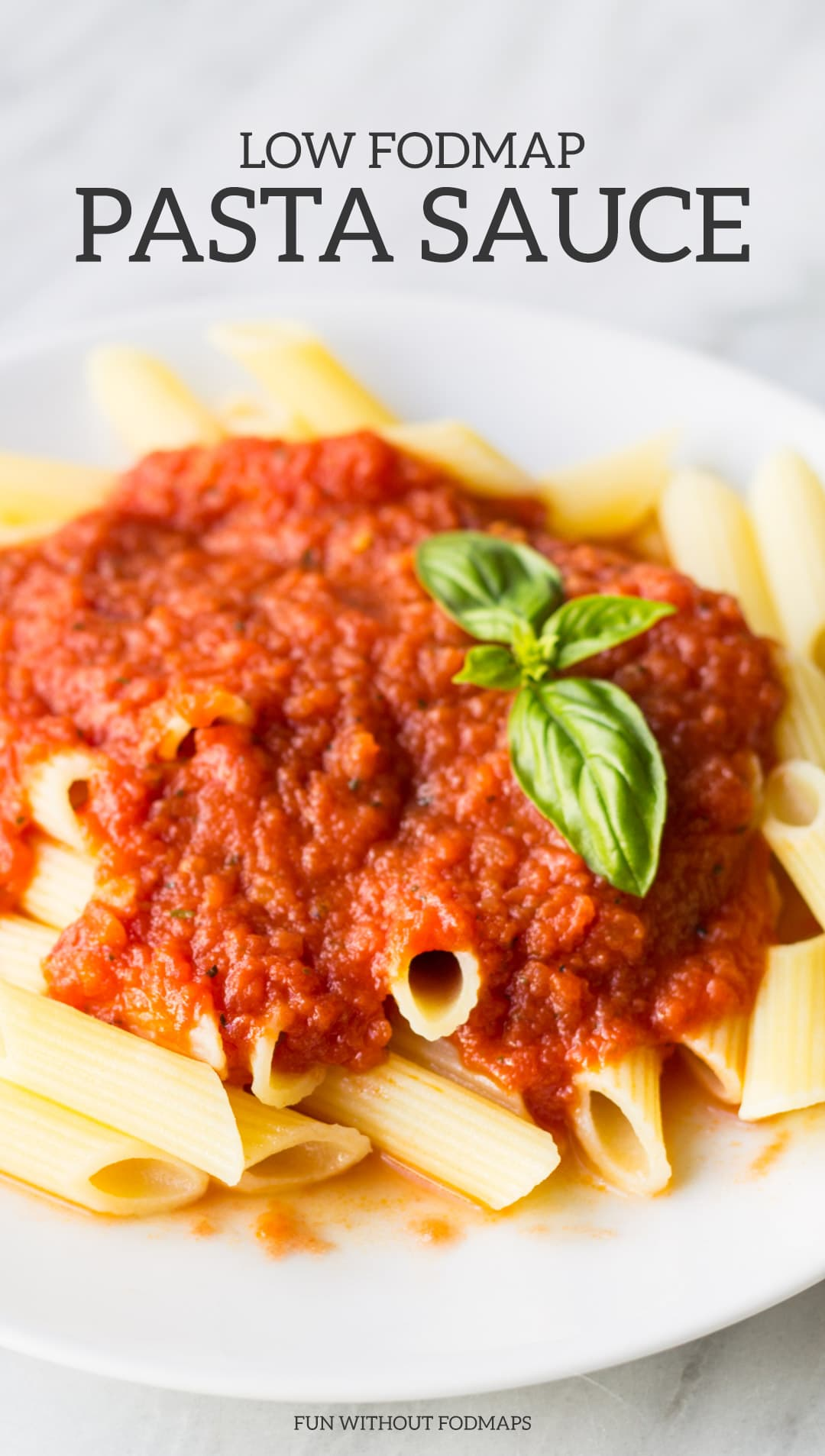 Low FODMAP Pasta Sauce