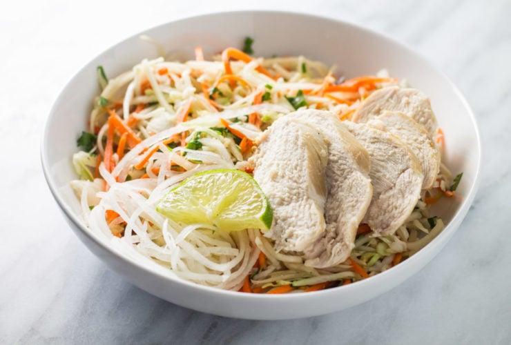 Low FODMAP Thai Citrus Salad