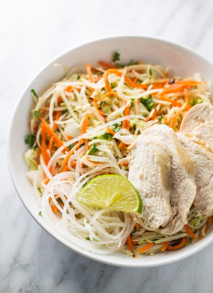 Low FODMAP Thai Citrus Salad