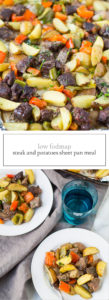 Low FODMAP Steak and Potatoes Sheet Pan Meal