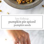 Low FODMAP Pumpkin Pie Spiced Pumpkin Seeds