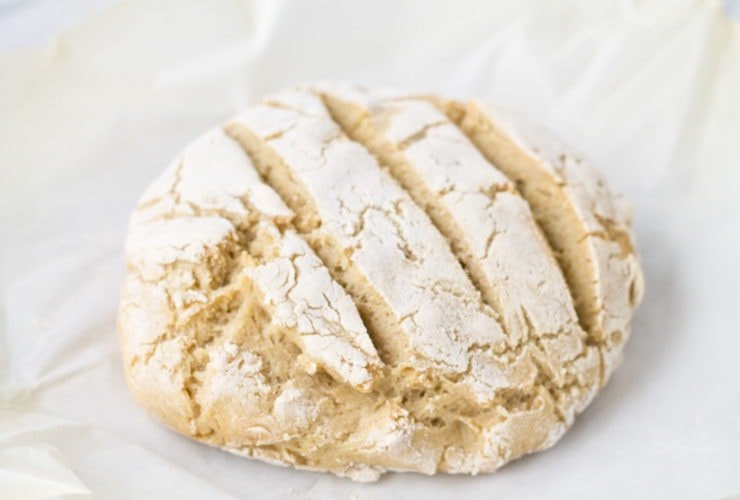 Low FODMAP crusty bread