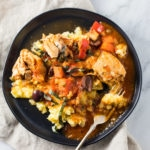 Low FODMAP Instant Pot Chicken Cacciatore