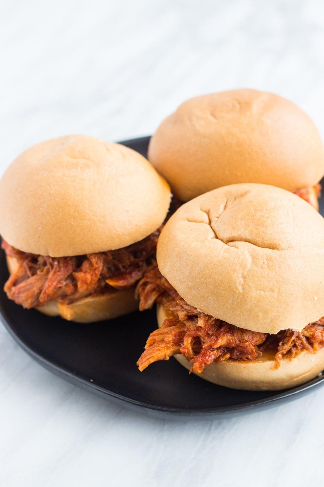 Low FODMAP BBQ Pork Sandwiches