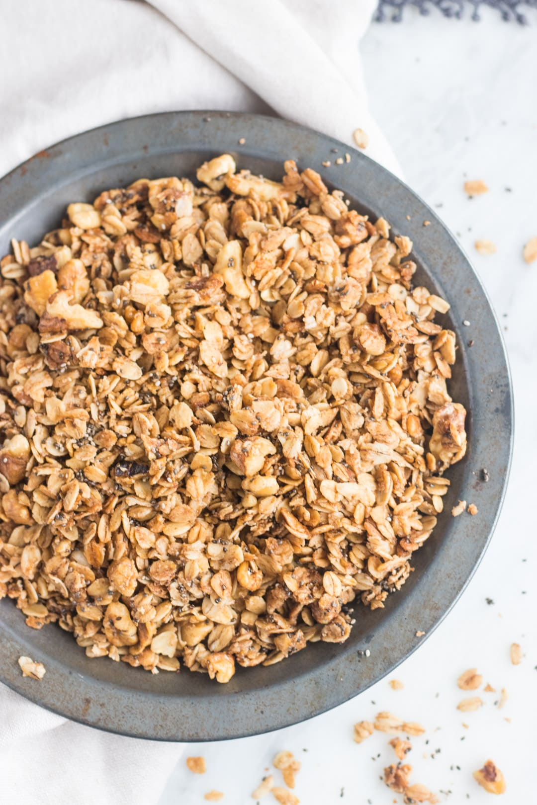Low FODMAP Maple Walnut Granola