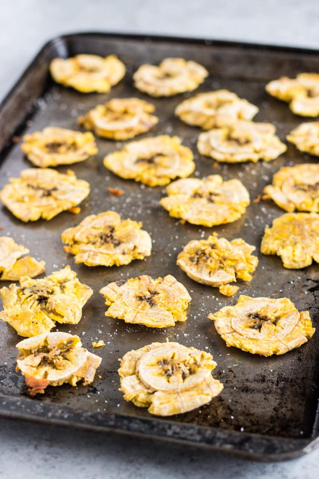 Low FODMAP Baked Tostones