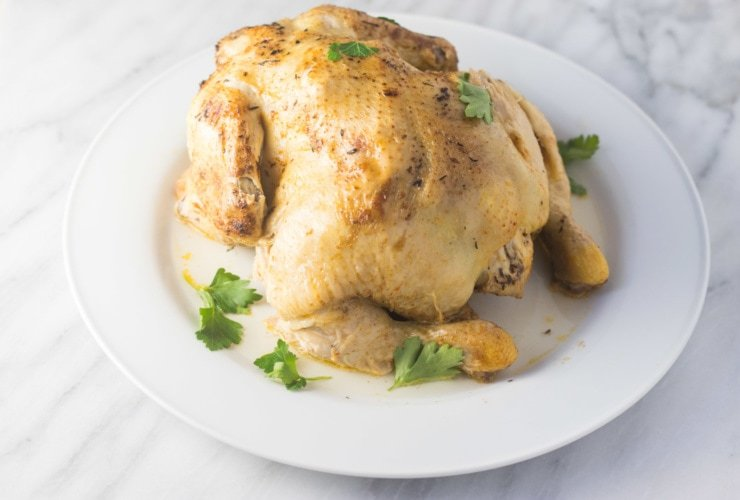 Low FODMAP Instant Pot Whole Chicken