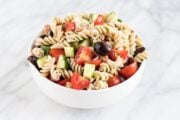 Bowl of Low FODMAP Italian Salad