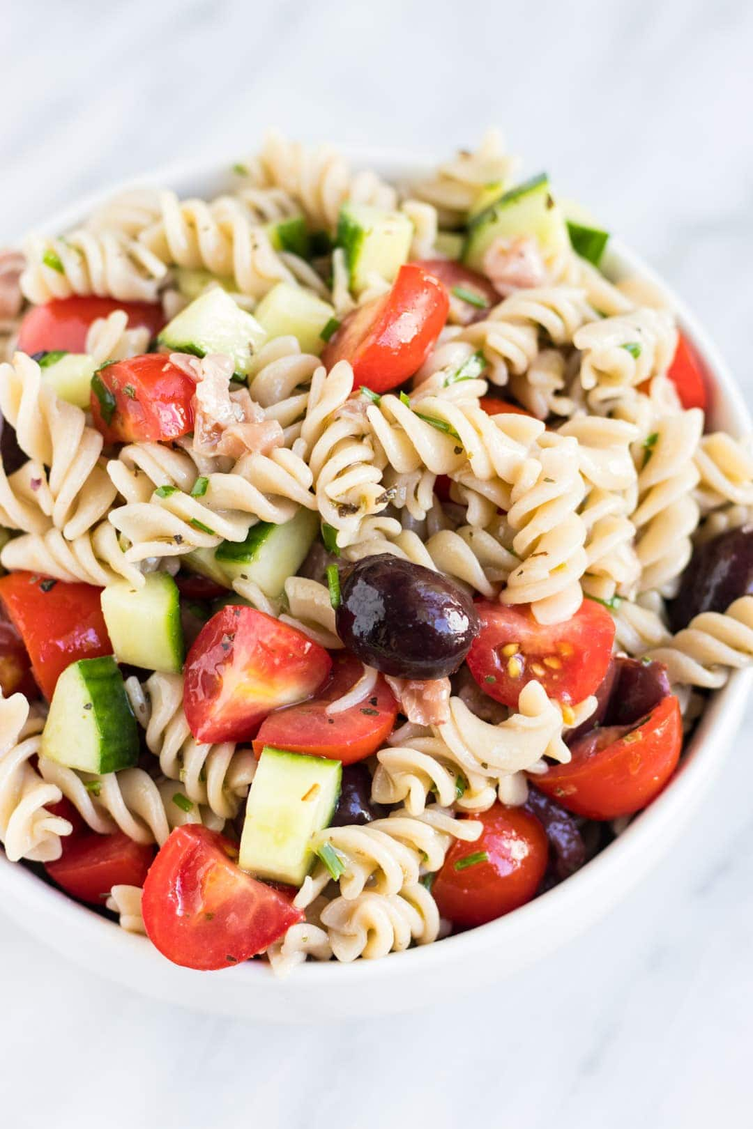 Low FODMAP Italian Pasta Salad