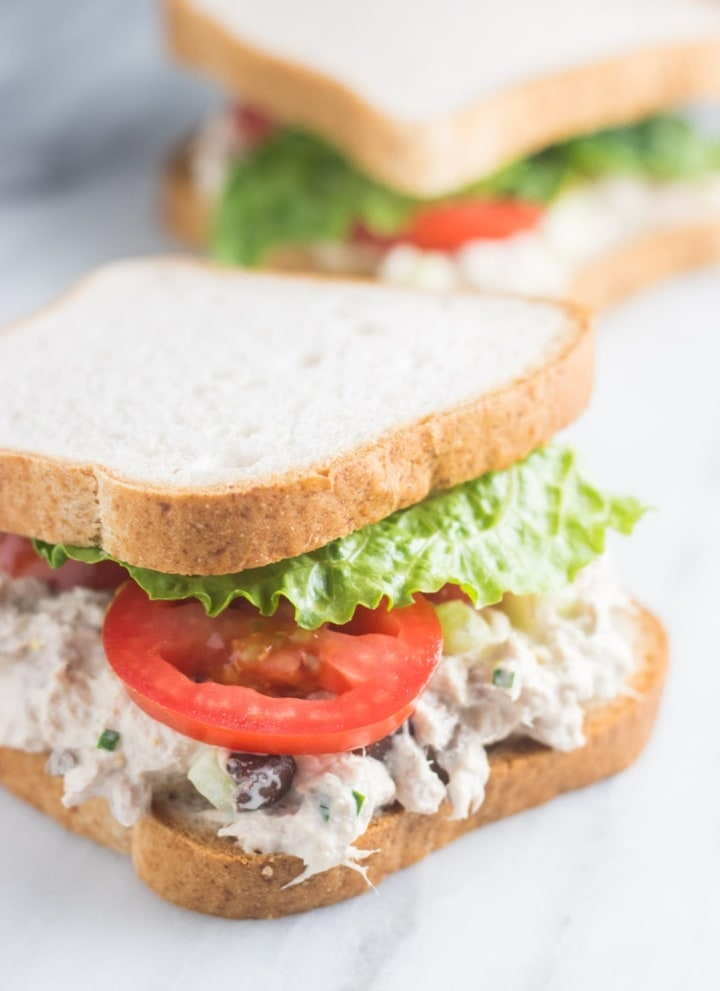 Low FODMAP Tuna Salad Sandwiches