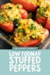 Low FODMAP Stuffed Peppers