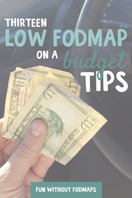 Low FODMAP on a Budget