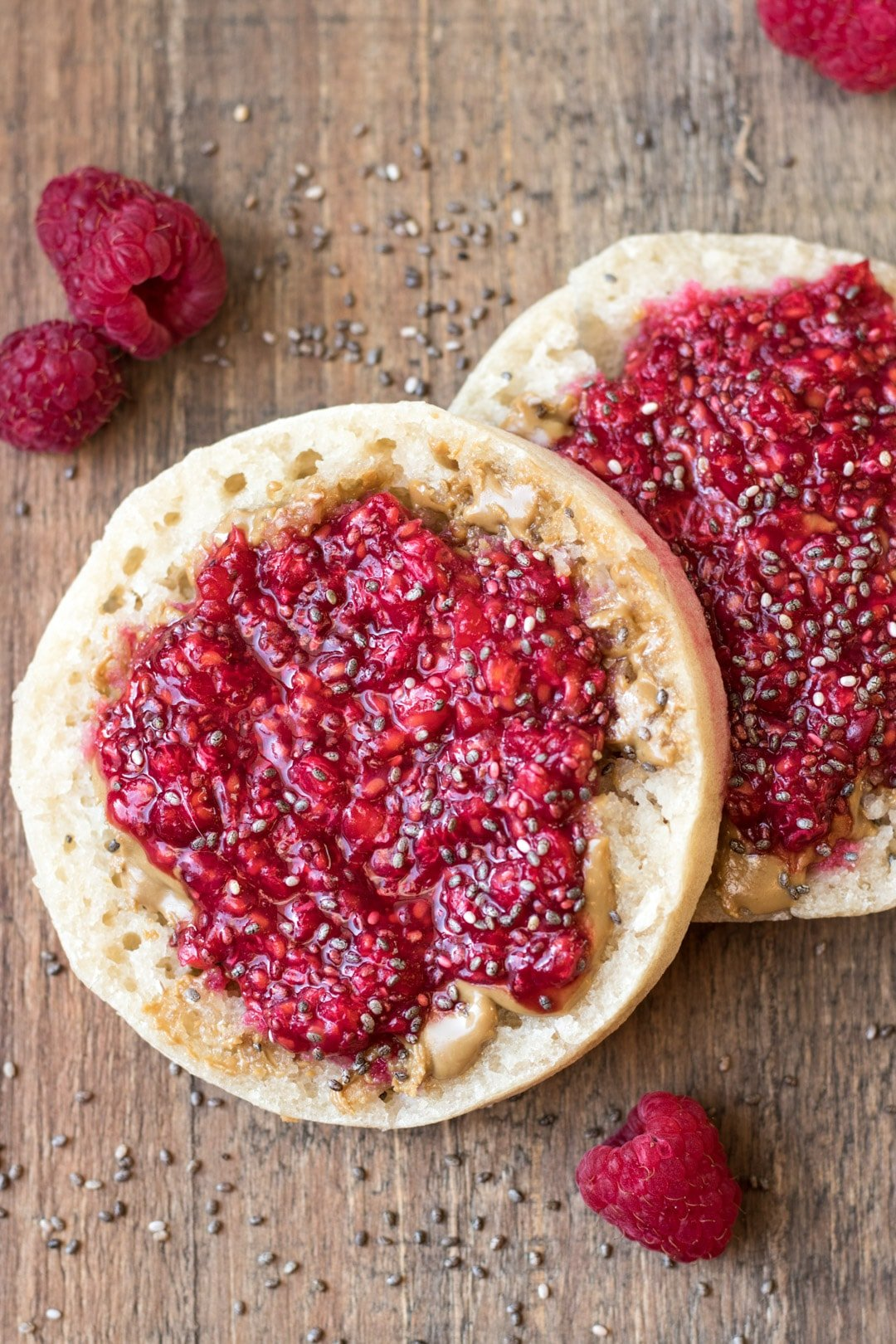 Low FODMAP Raspberry Chia Jam