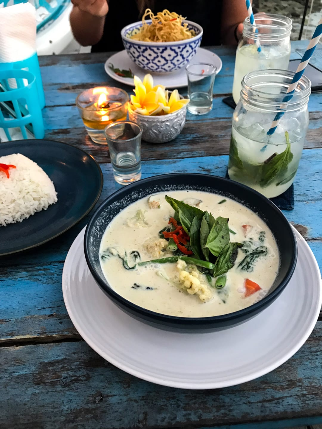 Green curry at Thai Pantry in Lembongan