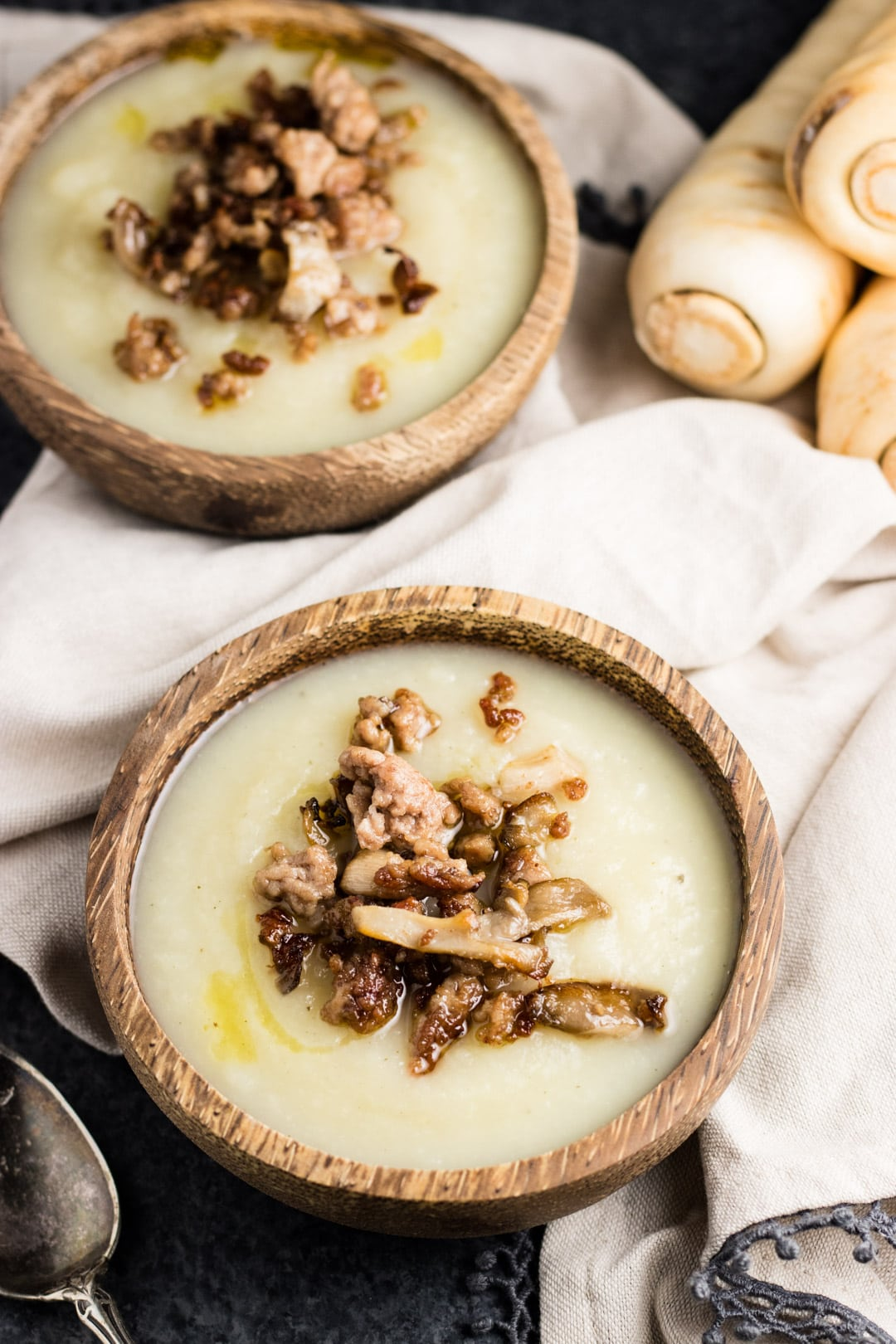 Low FODMAP Parsnip Soup