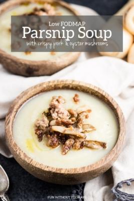 Low FODMAP Parsnip Soup
