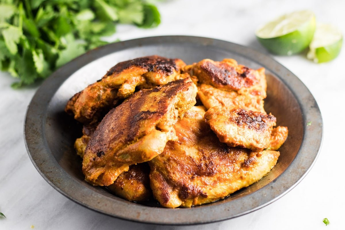 Low FODMAP Tandoori Chicken