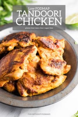 Low FODMAP Tandoori Chicken