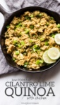 Low FODMAP Cilantro Lime Quinoa with Chicken
