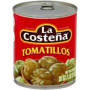 a can of La Costeña tomatillos