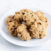 A plate of Low FODMAP Trail Cookies