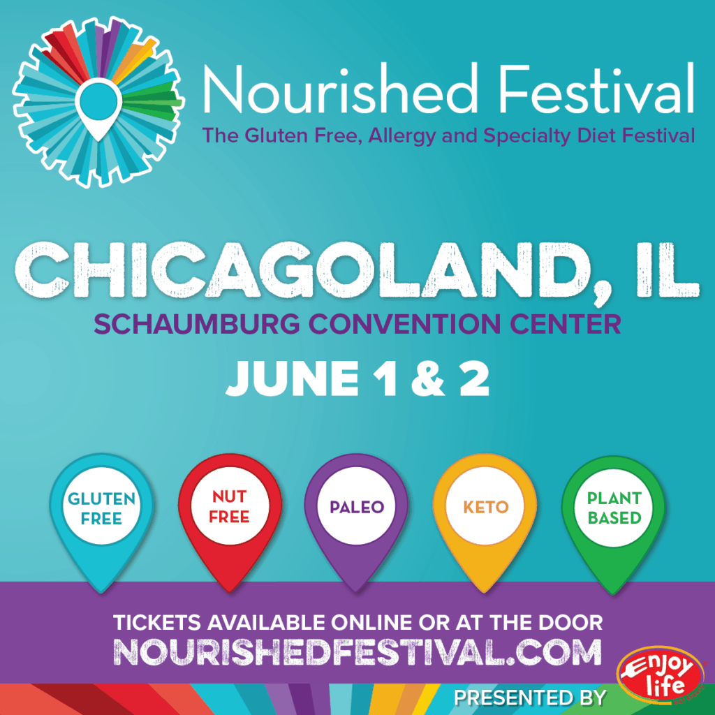 Free Tickets Available For Students To >> Nourished Festival Schaumburg 2019 Free Tickets Fun Without Fodmaps